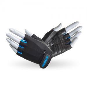 Перчатки Rainbow MFG-251 черно-голубые Mad Max