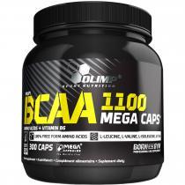 BCAA Mega 1100 300 капс Olimp Labs