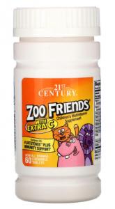 Zoo Friends  60 жев.таб, 21 Century
