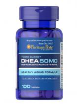 Puritan's Pride DHEA 50 мг 100 таб ,
