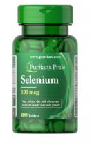 Puritan's Pride Selenium 100mсg 100 табл