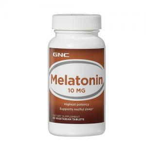 Melatonin 10 60 таб GNC