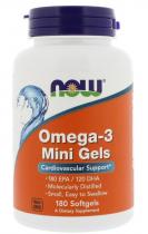 Now Foods Omega-3 Mini Gels 90 капс