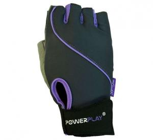 Перчатки WOMANS 1725-A серо-фиолетовые Power Play
