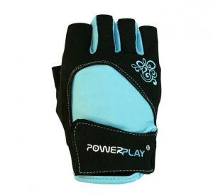 Перчатки WOMANS 1728-A голубые Power Play