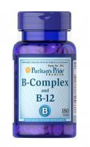 B-Complex B-12 180 табл Puritans Pride