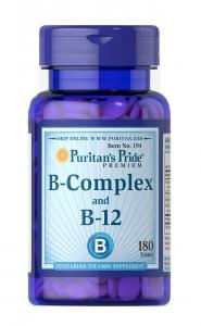 Puritan's Pride B-Complex B-12 180 табл
