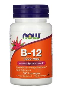 Now Foods B-12 1000 mcg 100 табл