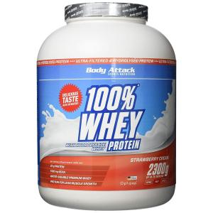 100% Whey Protein 2300 г Body Attack