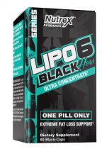 Lipo-6 Black Hers Ultra concentrate Black-caps 60 капс Nutrex