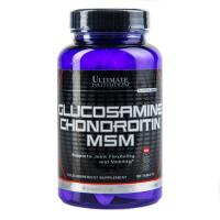 Glucosamine & CHONDROITIN MSM 90 таб Ultimate Nutrition