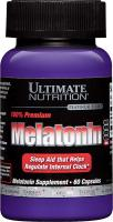 Melatonin 3 мг 60 капс Ultimate Nutrition