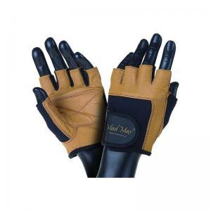 Перчатки FITNESS MFG-444 коричневые Mad Max