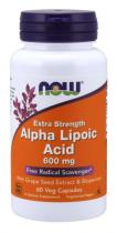 Alpha Lipoic Acid 600mg 60caps Now Foods