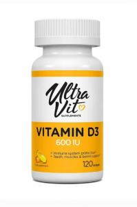VP laboratory Ultra Vit Vitamin D3 120 softgels