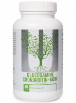 Universal Nutrition Naturals Glucosamine and CHONDROITIN MSM 90 таб
