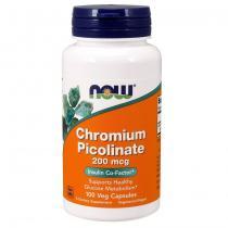 Now Foods Chromium picolinate 200 мг 100 капс