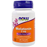 Melatonin 3 мг 180 капс Now foods