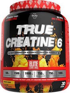 True Creatine 6 225g, Elite Labs USA