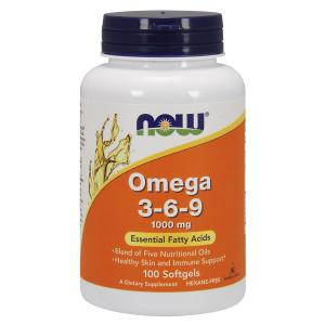 Now Foods Omega-3-6-9 1000mg  100 капс