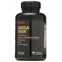 MEGA MEN Energy & Metabolism 180 каплет GNC