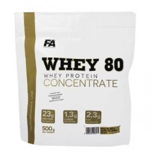 Whey Protein 80  500g,  Fitness Authority