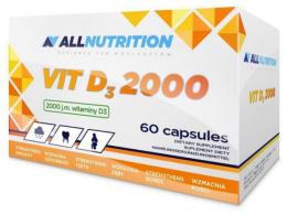 Vitamin D3 2000  60 капс, AllNutrition