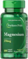 Magnesium 250mg 100 табл Puritans Pride