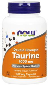 Now Foods Taurine 1000 мг 100 капс