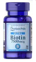 Puritan's Pride Biotin 7500 mcg 100 табл
