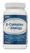 B-Complex + Energy 120 капс GNC