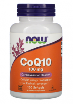 Now Foods CoQ10 100 мг 50 капс