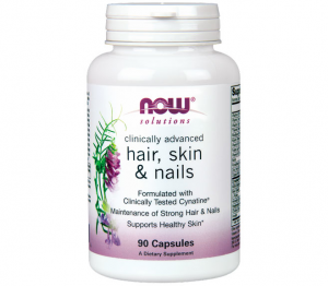 Hair, skin & nails 90 капс Now Foods