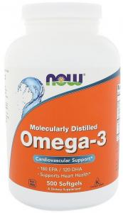 Now Foods Omega-3 500 капс