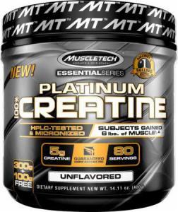 Platinum 100% Creatine 400 г MuscleTech