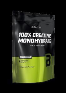 Biotech 100% Creatine Monohydrate 500 г (пакет)