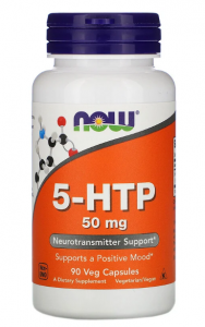 Now Foods 5-HTP 50 мг 90 капс